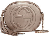 Gucci Soho Mini Textured-leather Shoulder Bag - Gold