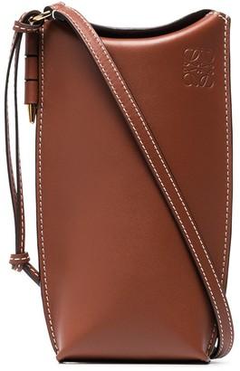 Loewe Gate Pocket leather crossbody mini bag