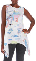 Vince Camuto Shattered Mirage Top