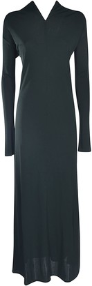 Jil Sander Exposed Detail Long Dress
