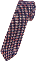 Oxford Silk Knit Tie Red/Blue