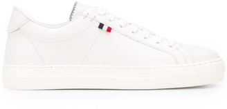 Moncler Lace-Up Leather Sneakers