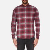Calvin Klein Men's Wechelon Check Shirt Port Royale Combi