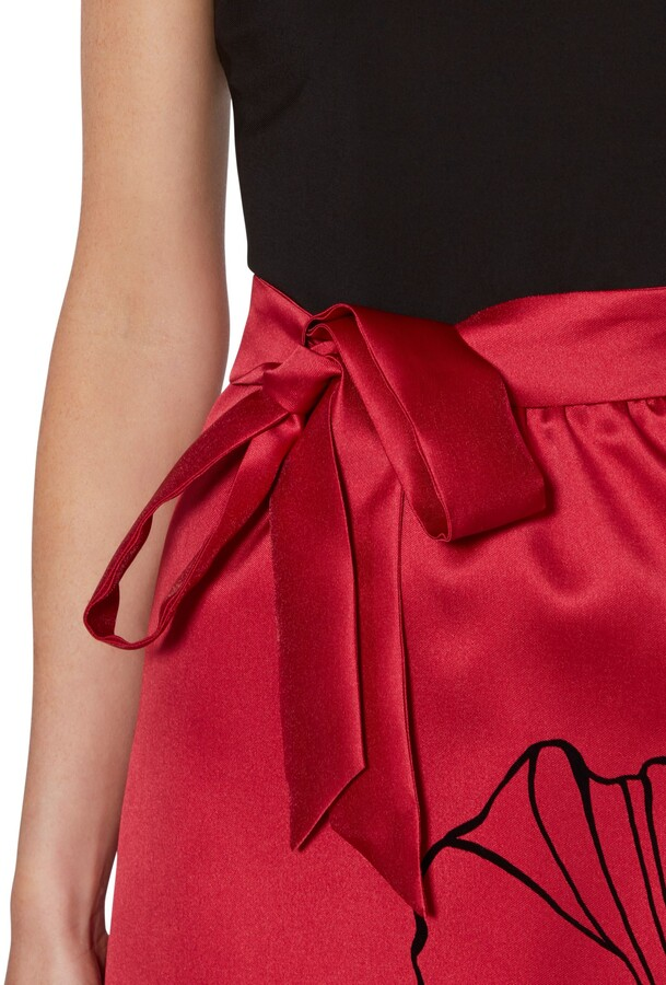 Thumbnail for your product : Gina Bacconi Eleanora Satin and Jersey Dress