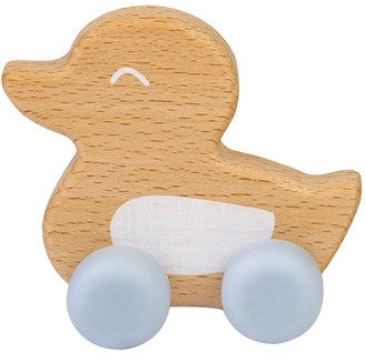 Kalencom Saro By Beech Wood and Silicone Duck Teether Toy