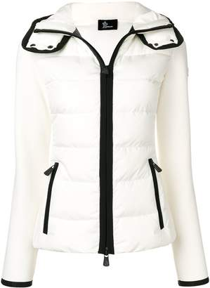 Moncler padded contrast jacket