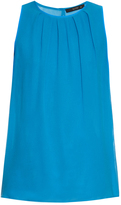 Etro Sleeveless silk-crepe top