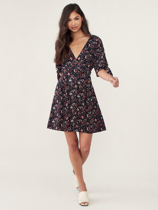 Sanctuary Modern Love Button Front Dress