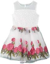 Nanette Lepore Girls' Embroidered Dress