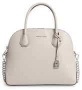 MICHAEL Michael Kors Michael By Michael Kors Large Mercer Leather Dome Satchel - Beige