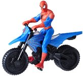 Spiderman Marvel with Supercross Cycle