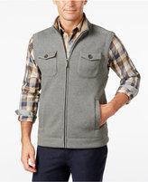 Tasso Elba Men's Big and Tall Sherpa-Lined Collar Bonded Hunting Vest, Only at Macy's