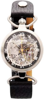 Zeppelin Ladies Watch Princess Automatic Skeleton Watch Silver 7457-2