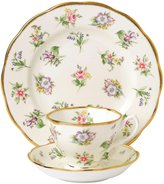 "Royal Albert 100 Years 1920 Teacup, Saucer & Plate Set - Spring Meadow - 8"" - 3 pc"