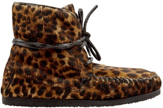 Etoile Isabel Marant Brown Pony-style calfskin Boots
