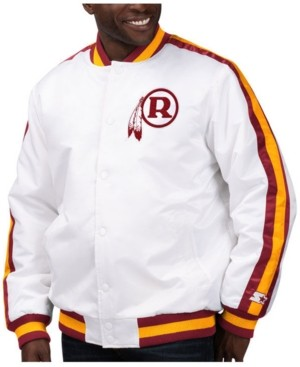 Redskins Starter Men's Washington The D-Line Starter Satin Jacket