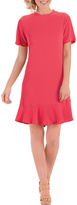 Mud Pie Coral Flounce Dress