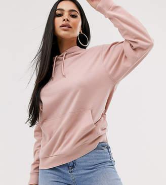 Asos DESIGN Petite ultimate hoodie in pink