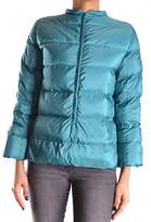 Peuterey Women's Green Polyester Down Jacket.