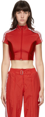 adidas Red Paolina Russo Edition Crop T-Shirt