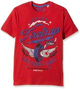 Firetrap Boy's Wing Wheels T-Shirt