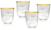 Godinger Alabaster Set of 4 Mugs