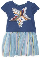 Pippa Pastourelle By & Julie Little Girl's Sequin Star Twofer Dress