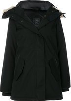 Canada Goose padded parka jacket with fur collar