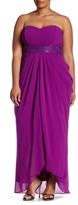 City Chic Maxi Divine Drape Dress (Plus Size)