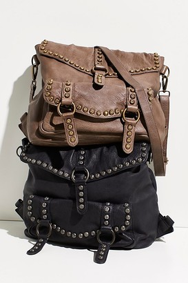 Fp Collection Sumac Studded Messenger