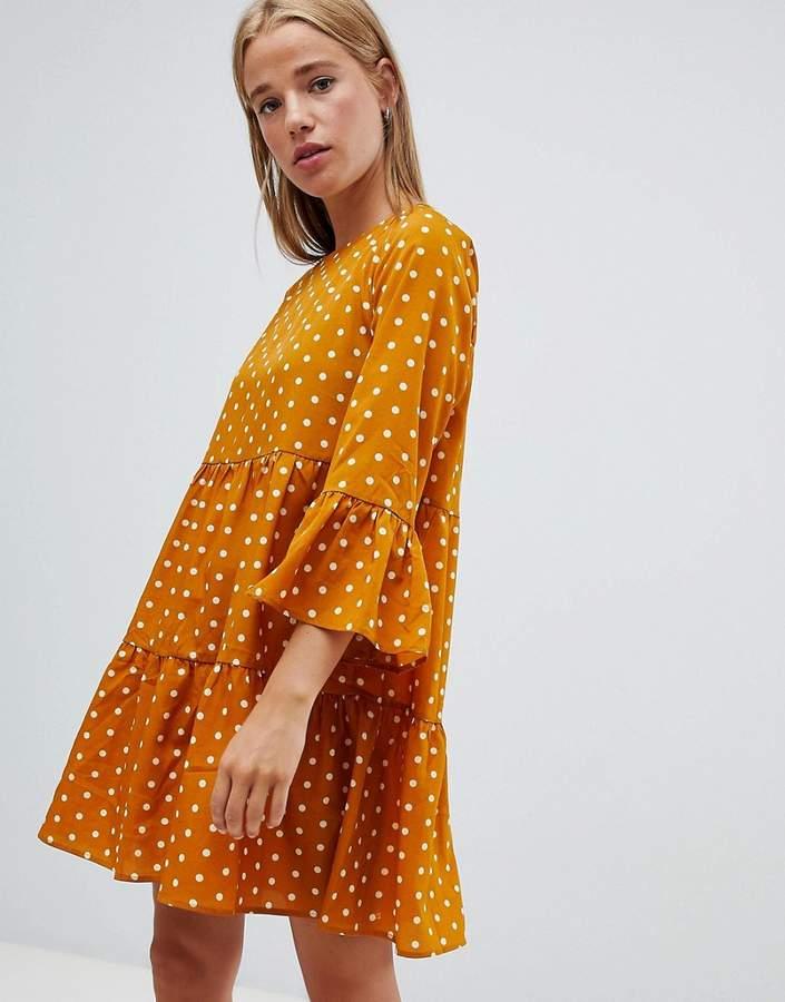 5198bae1ae5 Yellow Polka Dot Dresses - ShopStyle