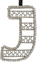 Wire Letter Ornament, J
