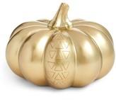 Levtex Goldtone Pumpkin Decoration