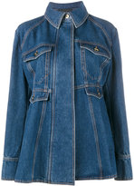Ellery oversized flared denim jacket - women - Cotton/Polyester - 6