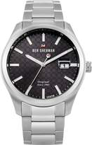 Ben Sherman Men's 'The Ronnie Professional' Quartz Stainless Steel Casual Watch, Color:Silver-Toned (Model: WBS109TSM)