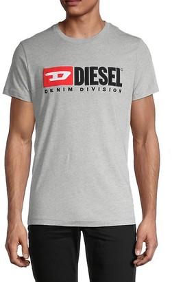 Diesel T-Diego-Division Cotton T-Shirt