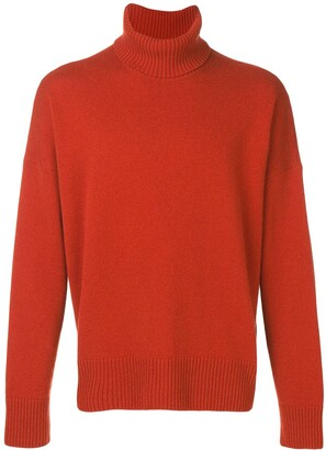 Ami Turtleneck Oversize Sweater