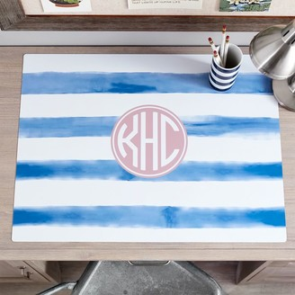 Pottery Barn Teen Personalized Desk Mat, Painted Stripe