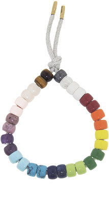 Carolina Bucci FORTE Beads Rainbow Moon Bracelet Kit - Yellow Gold