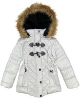 Urban Republic Paloma Silver Toggle-Closure Puffer Coat - Toddler & Girls