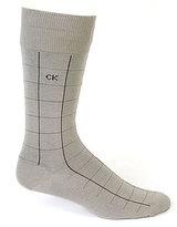 Calvin Klein Patterned Crew Dress Socks 3-Pack
