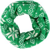 Simplicity Kids Knit Snowflake Infinity Sacrf in Contrasting Colors
