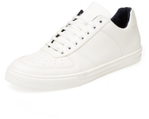 a. testoni Leather Low Top Sneaker