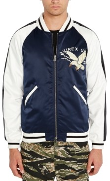 Avirex Men's Eagle Graphic Bomber Jacket
