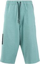 Y-3 track shorts - men - Cotton - M