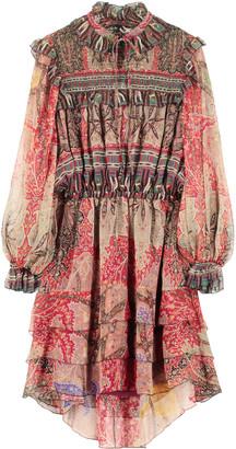 Etro Printed Chiffon Dress