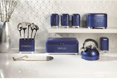 Kitchen Craft Lovello Tea, Coffee and Sugar Canisters -Midnight Navy Blue
