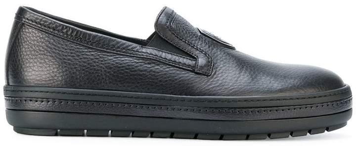 Baldinini logo loafers