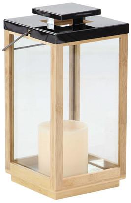 Hewson Wood Steel Lantern