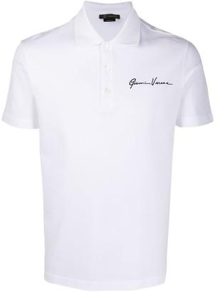 Versace GV Signature polo shirt